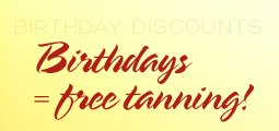 Visit us on your Birthday!